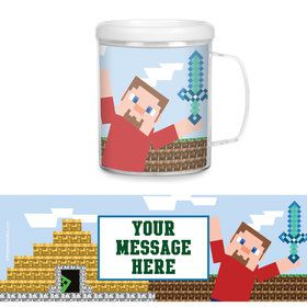 Mine Blocks Personalized Favor Mugs (Each)