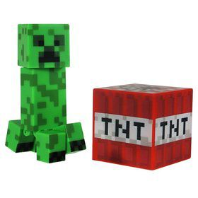 "Minecraft 3"" Core Creeper with Accessory (Each)"