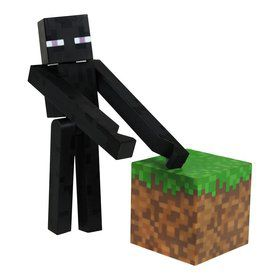 "Minecraft 3"" Core Enderman with Accessory (Each)"