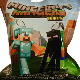 Minecraft Action Figure Hangers In Blind Bag
