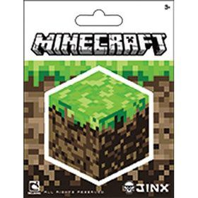 "Minecraft Block 5"" Sticker (Each)"