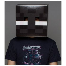 Minecraft Enderman Head For Adults One-Size
