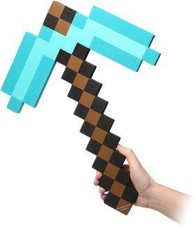 Minecraft Foam Diamond Pickaxe (Each)