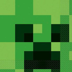 Minecraft Lunch Napkins (16)