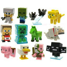 Minecraft Mini Vinyl Figures In Blind Box (Assorted)