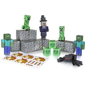 Minecraft Papercraft Hostile Mobs (30 Pc. Set)