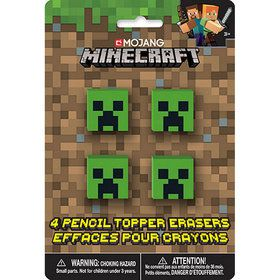 Minecraft Pencil Topper Favors (4)