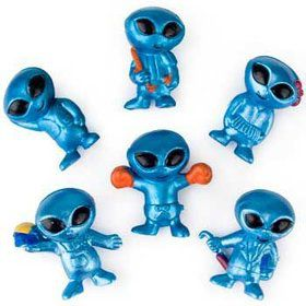 Mini Alien Figures (48 Count)