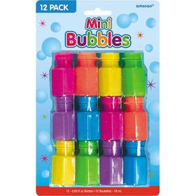 Mini Bubbles (12 Pack)