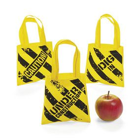 Mini Construction Zone Tote Bags (12)