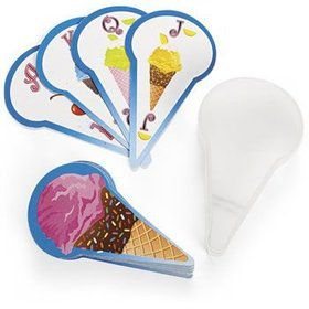 Mini Deck of Ice Cream Cards (12 pack)