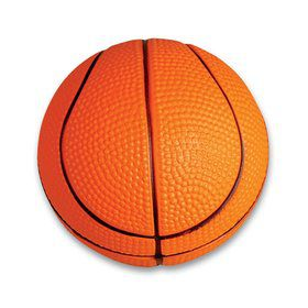"Mini Foam 2.5"" Basketball (12 pack)"