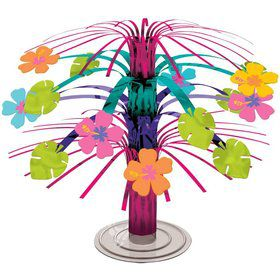 Mini Foil Cascade Hibiscus Centerpiece (Each)