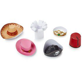Mini Party Hats (6 Pack)