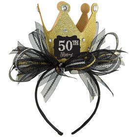 Mini Sparkling Celebration Birthday Top Hat Headband Kit