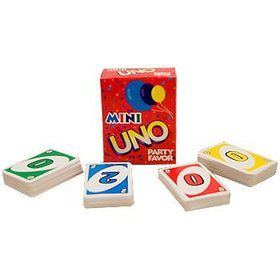 Mini Uno Game (4-pack)