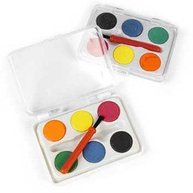 Mini Watercolor Paint Set (6-pack)