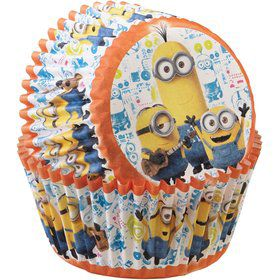 Minion Cupcake Baking Cups (50 Pack)