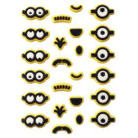 Minion Edible Icing Decorations (12 Pack)