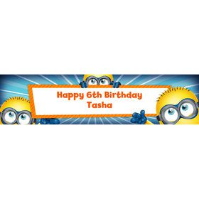Minion Personalized Banner (Each)