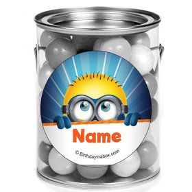 Minion Personalized Mini Paint Cans (12 Count)