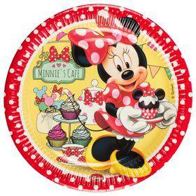 Minnie Cafe Paper Luncheon Plates (8 Pack)
