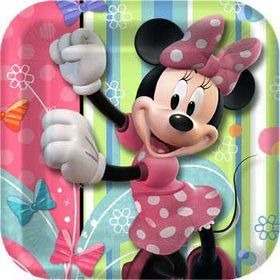 Minnie Cake Plates (8-pack)