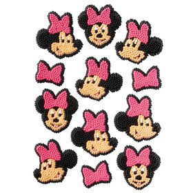Minnie Edible Icing Decorations (12 Pack)