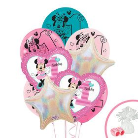 Minnie Mouse 1st Birthday Balloon Bouquet Kit