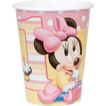 Minnie Mouse 1st Birthday Cups (8-pack) BB017239