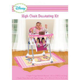 Minnie Mouse 1st Birthday High Chair Decorating Kit (Each)