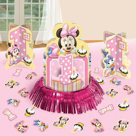 Minnie Mouse 1st Birthday Table Decorating Kit (Each)