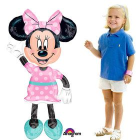 "Minnie Mouse 54"" Airwalker Balloon (Each)"