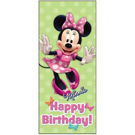 "Minnie Mouse 60"" Door Poster Decoration (Each)"