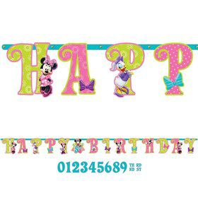 Minnie Mouse Add-An-Age Letter Banner (Each)