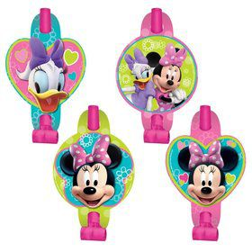 Minnie Mouse Blowouts (8 Pack)