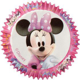 Minnie Mouse Cupcake Baking Cups (50 Pack)