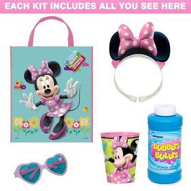 Minnie Mouse Deluxe Favor Kit (for 1 Guest)