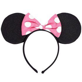 Minnie Mouse Deluxe Headband Favor (Each)