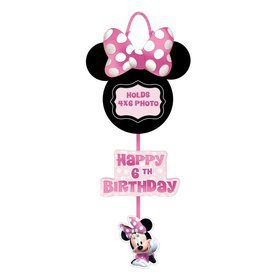 Minnie Mouse Forever Personalized Photo Sign