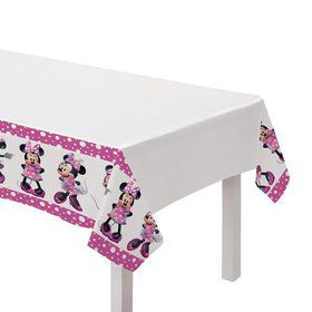 Minnie Mouse Forever Plastic Table Cover