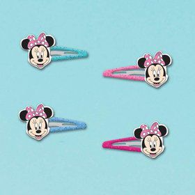 Minnie Mouse Hair Clip Favors (12 Pack)