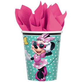 Minnie Mouse Helpers 9oz Paper Cups (8)