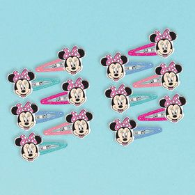 Minnie Mouse Helpers Hair Clips (6)