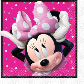 Minnie Mouse Helpers Lunch Napkins (16)