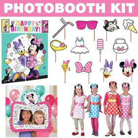 Minnie Mouse Helpers Photo Booth Kit