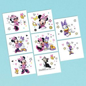 Minnie Mouse Helpers Tattoo Sheet (1)