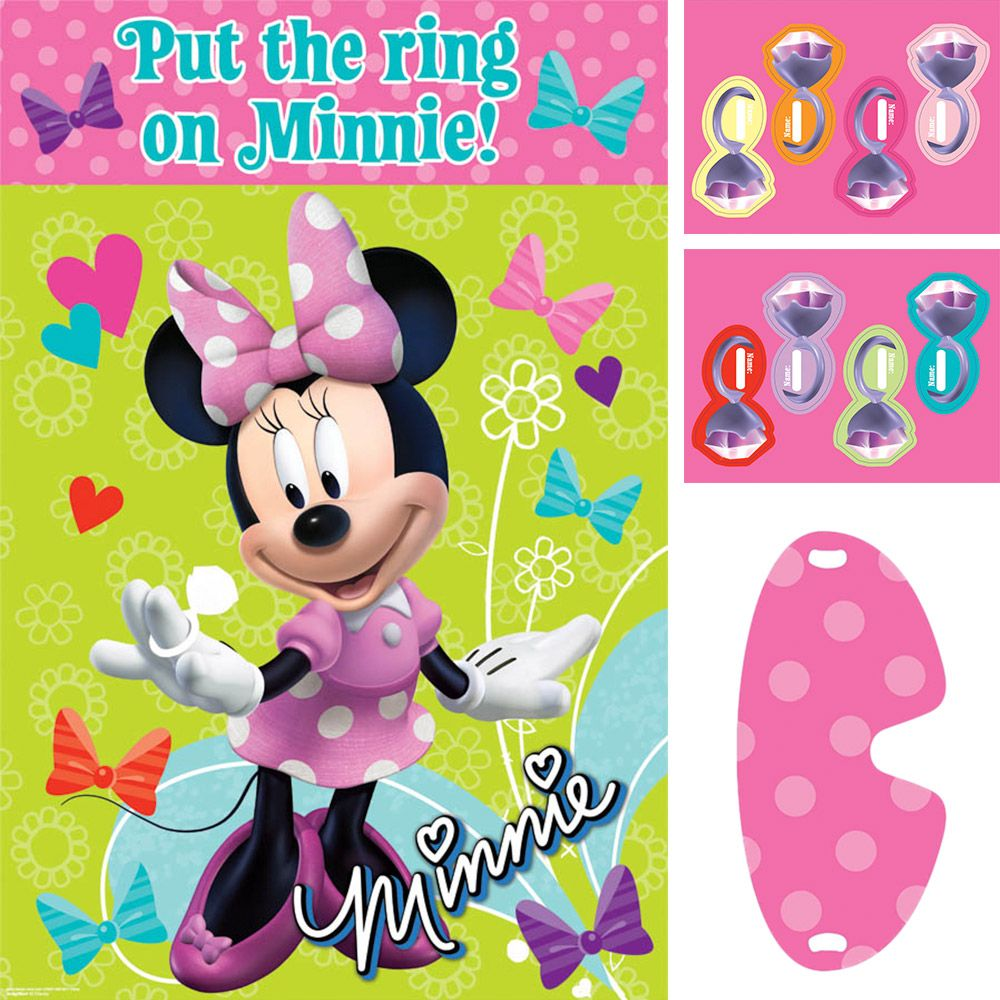 Minnie Mouse Party Supplies Game (Each) BB276597