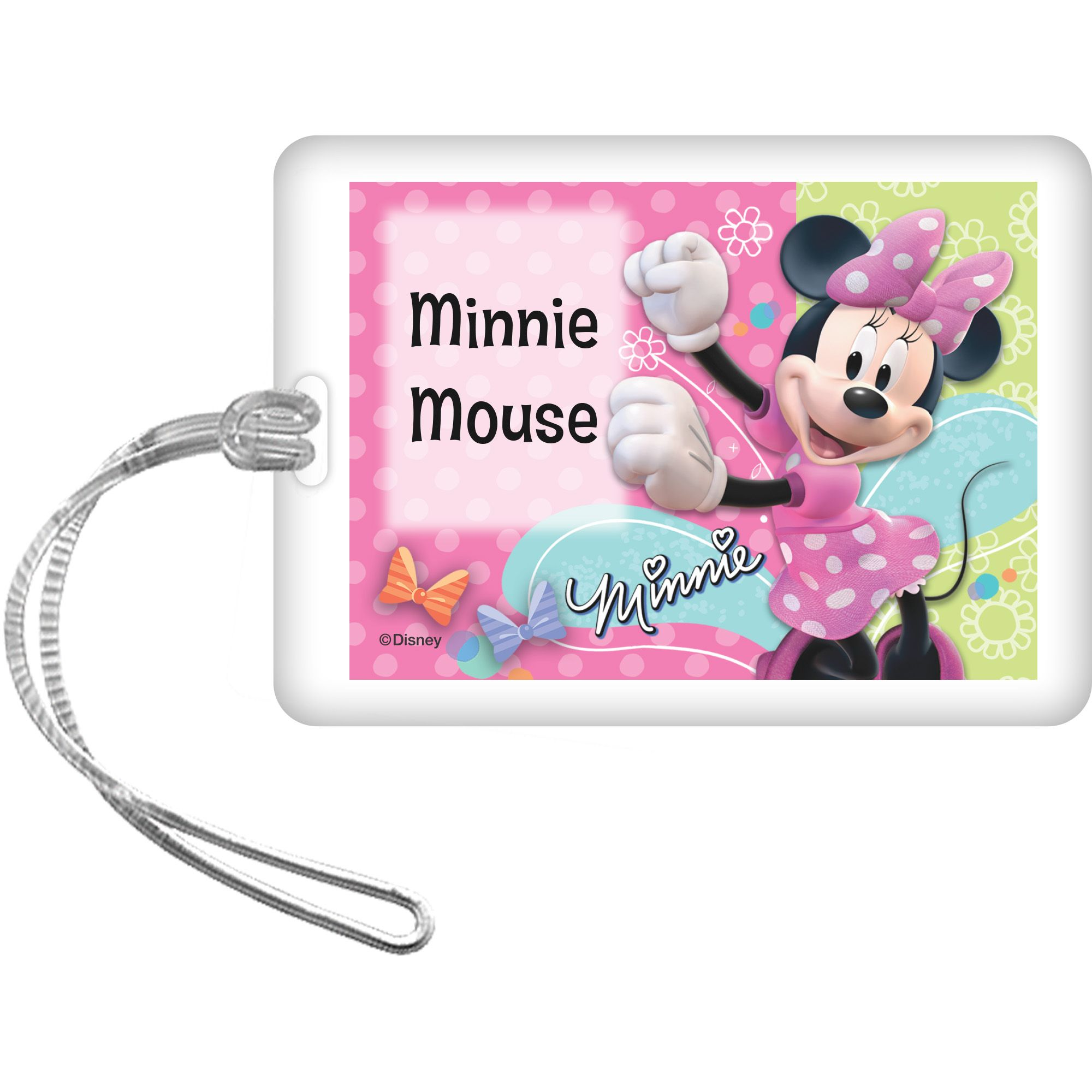 Minnie Mouse Personalized Bag Tag (Each) BB1332BG