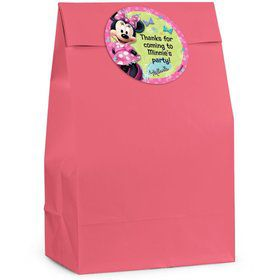 Minnie Mouse Personalized Favor Bag (Set Of 12)
